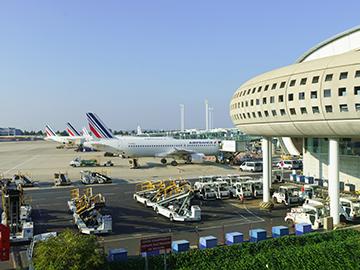 L'aéroport de Roissy CDG